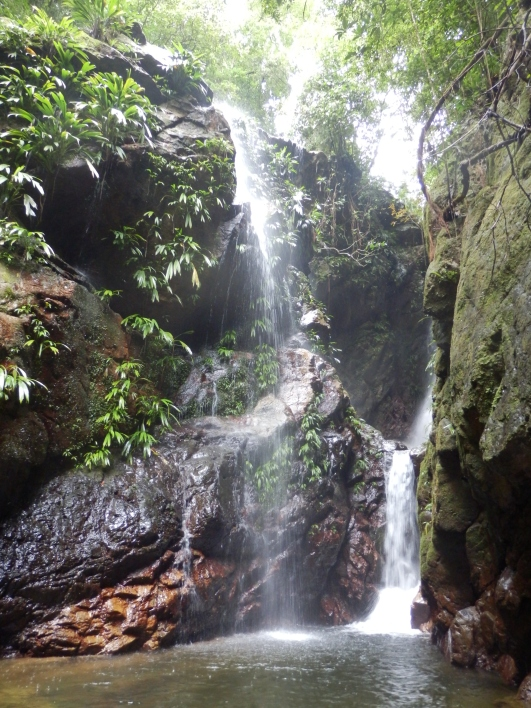 The 30-minute walk to the upper falls at Las Cascadas Lodge is well worth the effort. Photo: Joanna Lewis