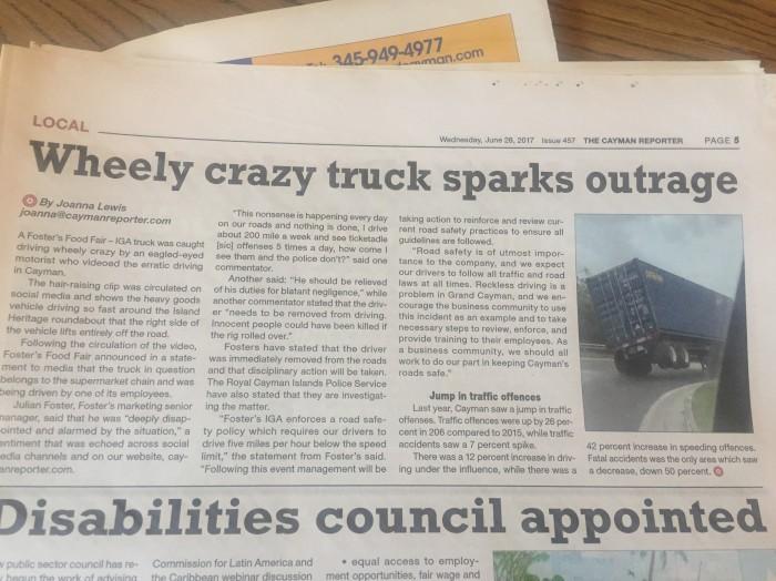 wheely crazy truck